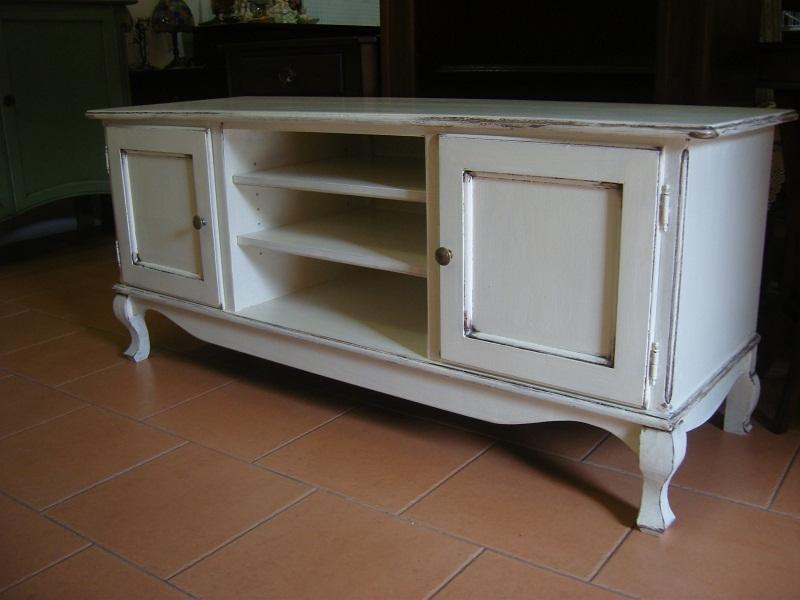 Mobili porta tv in legno bianco mobile porta tv in legno laccato bianco opaco idee pinterest - Dalani mobili porta tv ...